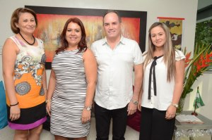 Gina Mayorga Zuleta, Marly Alderis Pérez, Francisco Ovalle Angarita y Angélica Olarte.