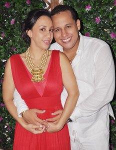 Diana Daza y Ronal Daza Oñate.