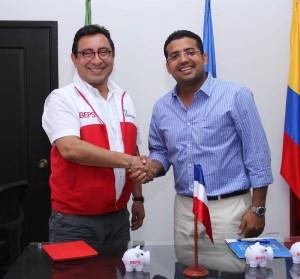 Augusto Ramírez Uhia y Mauricio Olivera González.