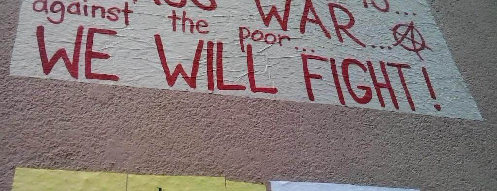En una pared de Neukölln, Berlín.