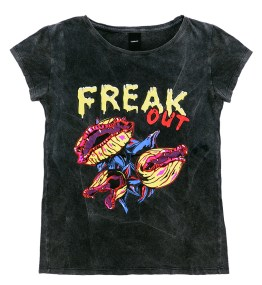 """Remera de algodón """"Freak Out"""", Complot."""