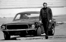 Steve McQuen y su Ford Mustang GT 390 Fastback en Bullitt.