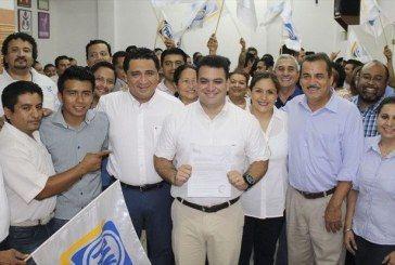 Se registra MahmudChnaid, candidato del PAN a la Diputación Federal por el Distrito II