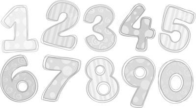 20571109-Illustration-of-Stock-Illustration-numbers-cartoon-number
