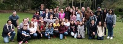 Jóvenes provenientes de Alemania, Austria, Bélgica Flamenca, Estados Unidos, Dinamarca, Eslovaquia, Italia, Noruega, Suiza, Tailandia, Finlandia visitaron Coatepec.