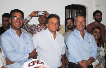 Pulti, Artime, Laserna y Rodriguez