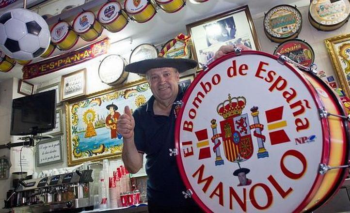 Colombia: Ladrones roban a Manolo el del Bombo en partido España