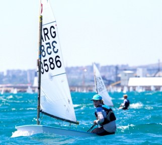 Santi Palkin Europeo Optimist
