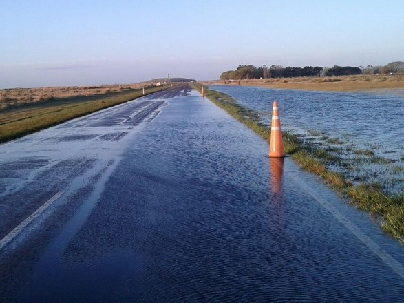 Agua en ruta 11 operativo