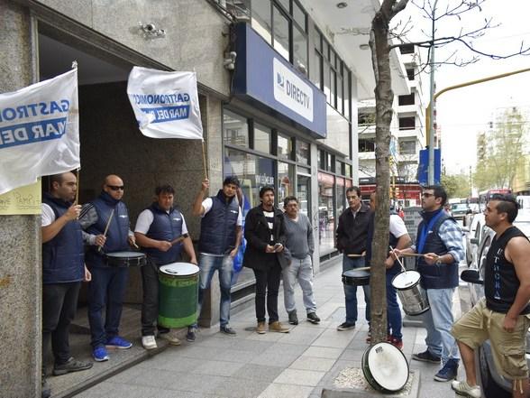 Protesta gastronomicos