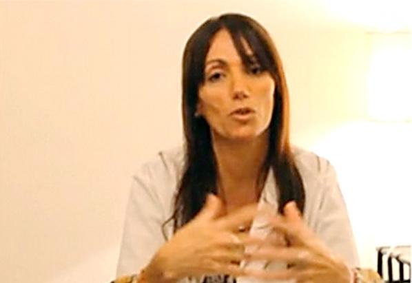 Griselda Siciliani también realizó una parodia de la cheta de Nordelta