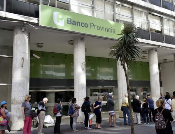 Paro Banco provincia