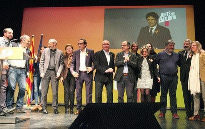Los independentistas catalanes llevan sus reivindicaciones a Bruselas