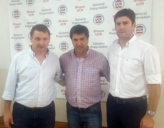 Mario Rodríguez con Zubiaurre y Cordonnier