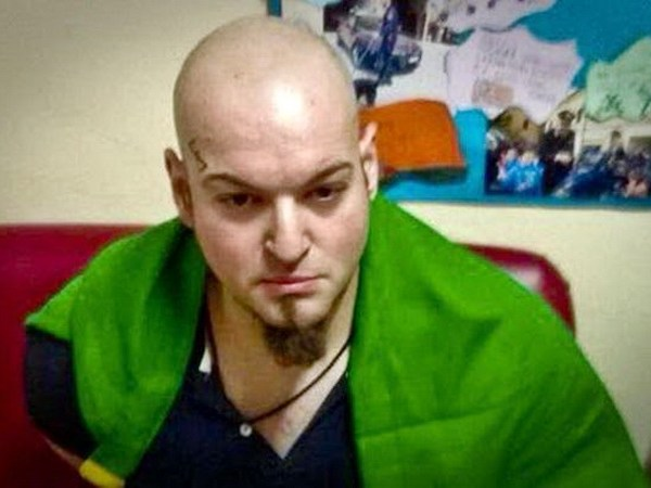 Macerata (Italy), 03/02/2018.- Italian nationalist Luca Traini was arrested by Italian Carabinieri after shooting with a gun from a vehicle on passersby in the central Italian town of Macerata, Italy, 03 February 2018. According to the local authorities, Traini confessed to shooting from a vehicle and injuring four people. The town at the eastern Italian coast near Ancona was put under a lockdown due to shots being fired from a car driving around in the town. (Incendio, Italia) EFE/EPA/STRINGER BEST QUALITY AVAILABLE
