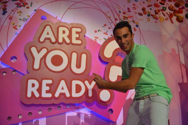 Felipe Delgadillo en Are you ready?