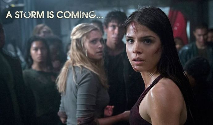 The 100 1x06 His Sister's Keeper - Octavia y Clarke