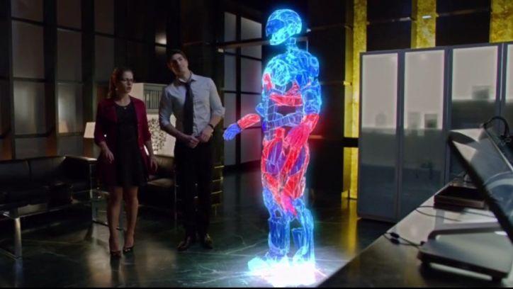 Arrow 3x09: Ray Palmer pide ayuda a Felicity para que la ayude a proteger la ciudad con su nuevo proyecto: A.T.O.M