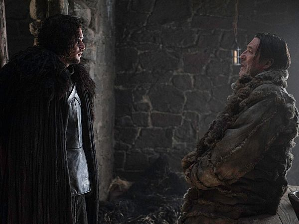 Juego de tronos 5x01 Jon Snow