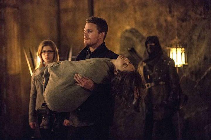 Arrow 3x20 The Fallen