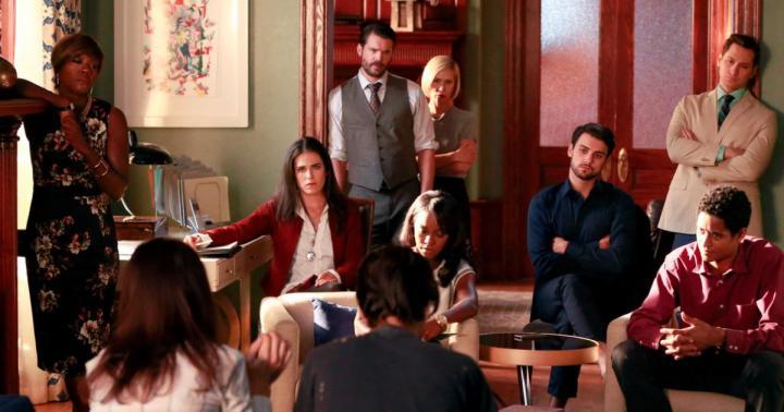 Midseason de la segunda temporada de How to Get Away with Murder