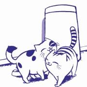 gatos felices con Feliway