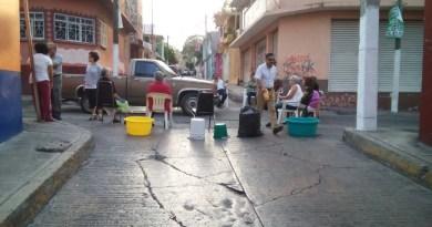 La falta de agua es por problemas en la red de distribución
