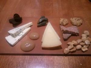 The cheese flight