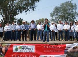 REALIZAN LA PRIMERA EXPO AGROPECUARIA EN TAPALPA