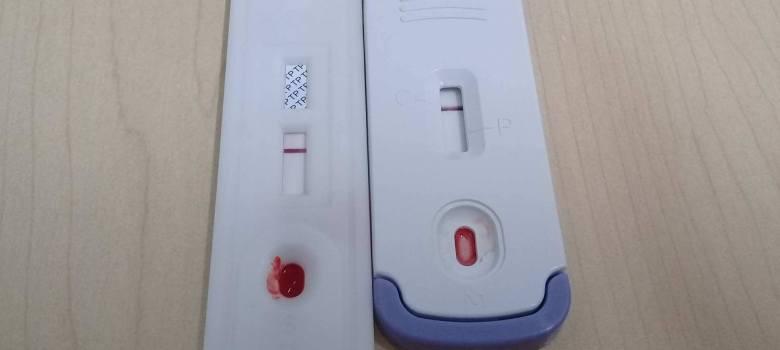 Pruebas rápidas de VIH y Sífilis