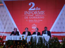 Rios Arias destaca reducción de deuda