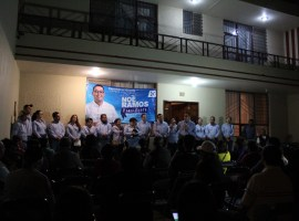 Noé Ramos promete mejorar el sistema de seguridad pública
