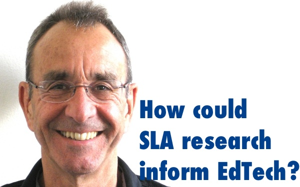How could SLA research inform EdTech?