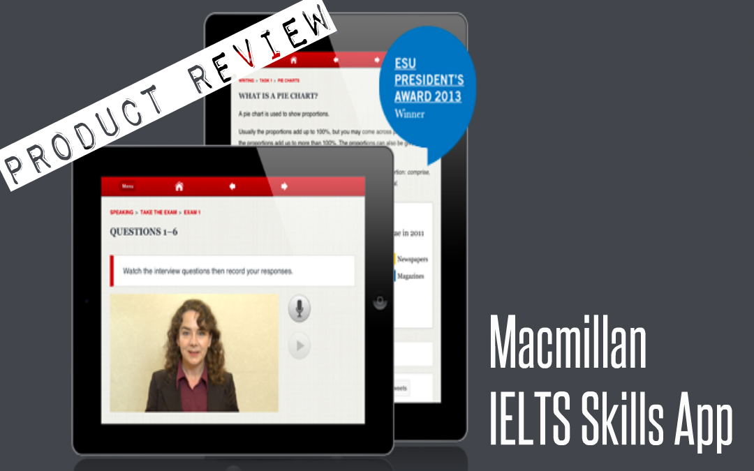 Product Review – Macmillan IELTS Skills App