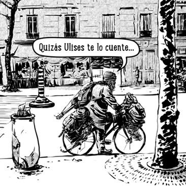 Detalle del webcomic EL NUDO