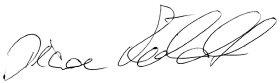 persönliche Unterschrift