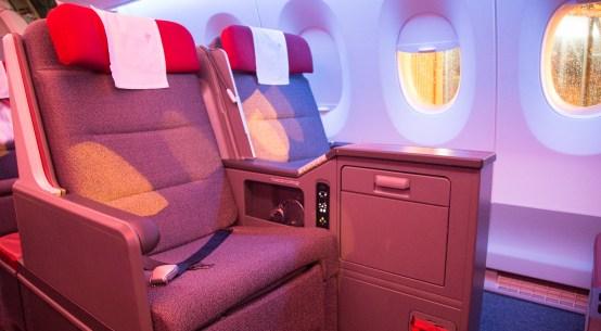 Como solicitar um upgrade de classe nos voos Latam