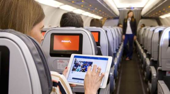 Avianca Brasil é a primeira empresa aérea da América do Sul com internet a bordo
