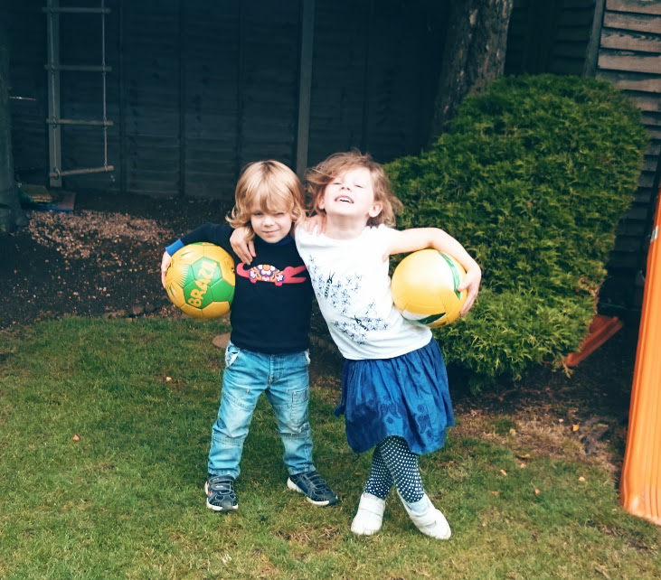 Ella & Sam #CelebrateBetter with Footy Fun!