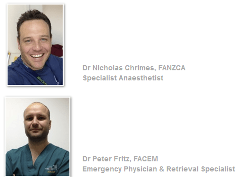 Peter Fritz and Nick Chrimes