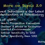 Wee – Cliff Deutschman with Additional Thoughts on Sepsis 3.0