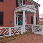 Entry to the Woodrow Wilson birthplace