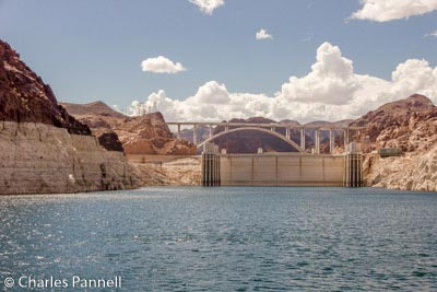Hoover Dam and the Pat Tillman Memorial Bridge from the Desert Princess
