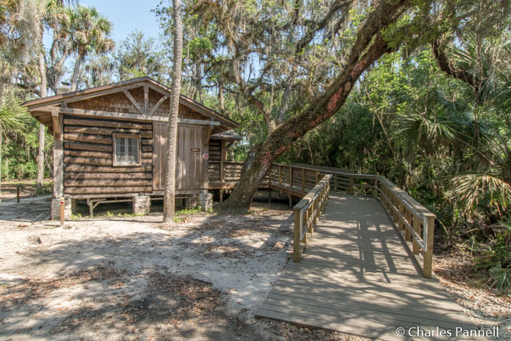 Historic florida cabin boasts modern access upgrades for Florida state parks cabins
