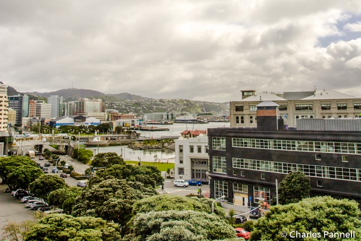 Sleeping in Wellington