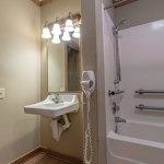Sink in Cabin 6 bathroom