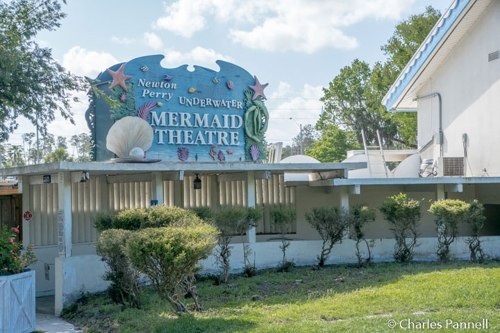 The Mermaid Theatre at Weeki Watchee State Park