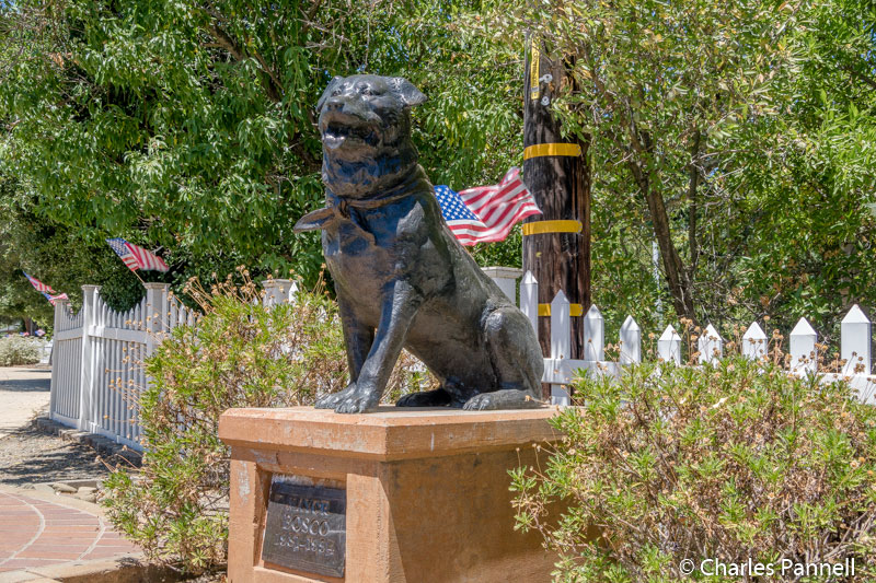 Mayor Bosco's memorial in Sunol, California