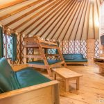 Great Room in Yurt 16