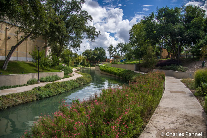 Along the Museum Reach of the San Antonio River Walk